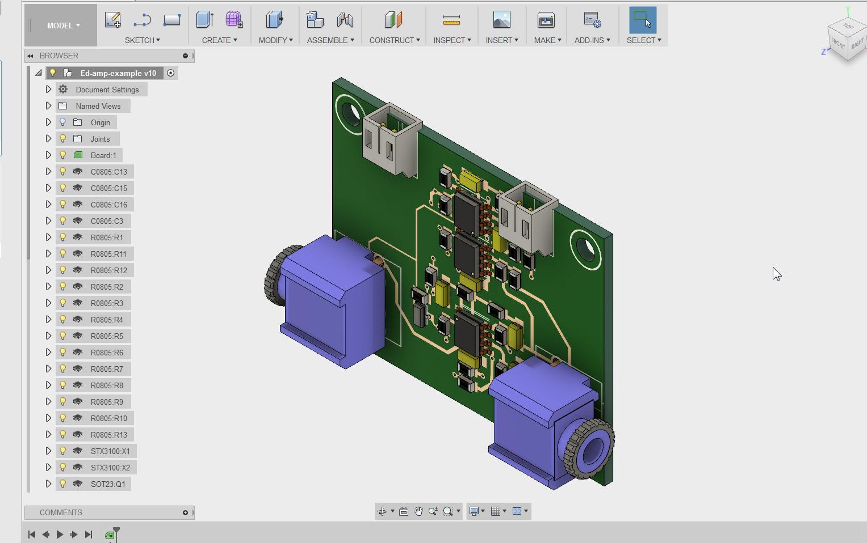 Autodesk Eagle, prototypage de carte électronique