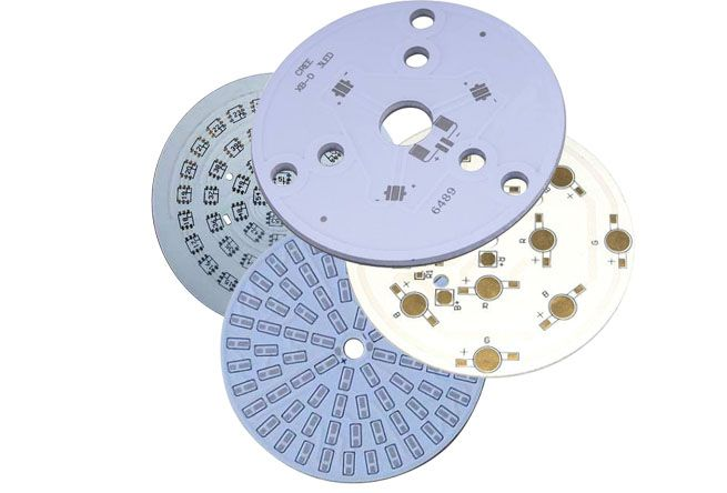 Some examples of aluminum-based PCBs.