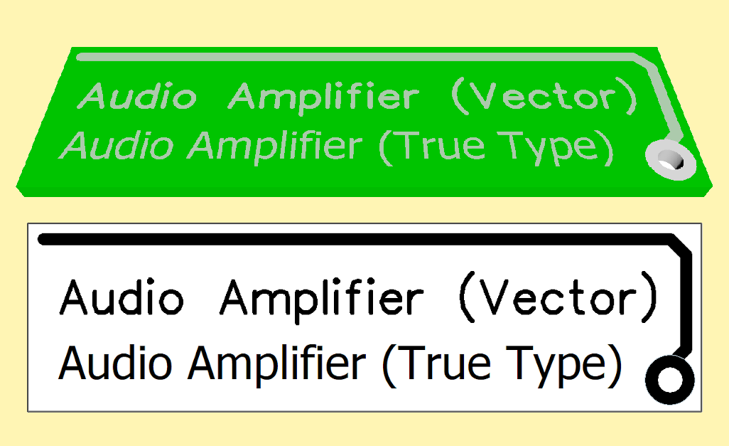 Although True Type Fonts are more beautiful (on your PC), but it is better to choose maximum system compatibility using VECTOR fonts.