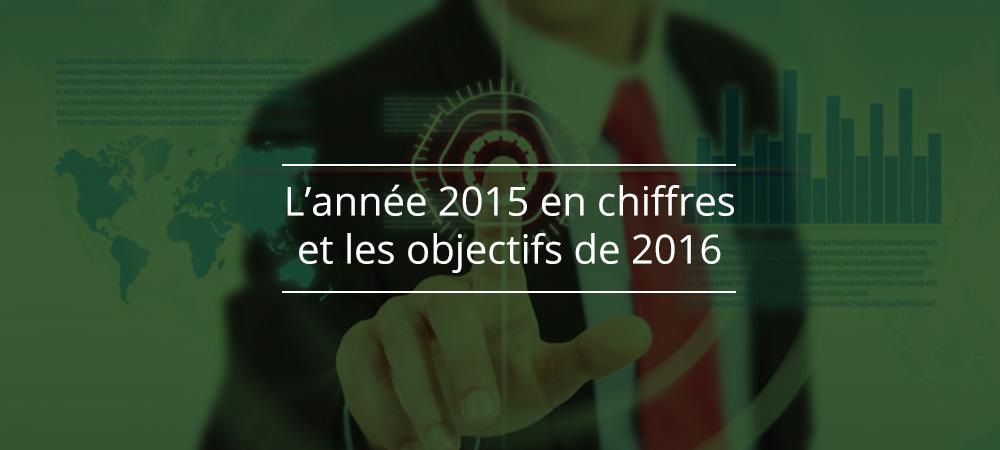 L'année 2015 en chiffres et les objectifs de 2016