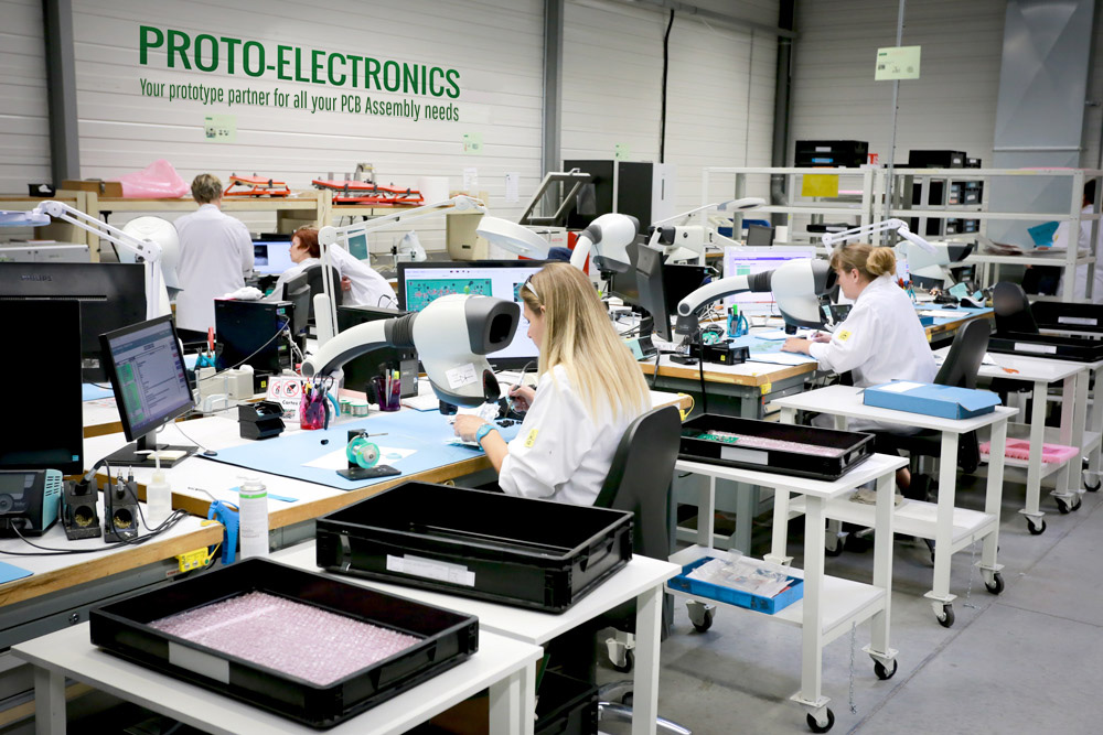 Manufacturing your high quality electronic prototypes.