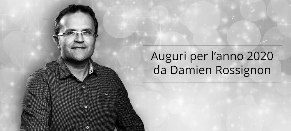 Auguri per l'anno 2020 da Damien Rossignon
