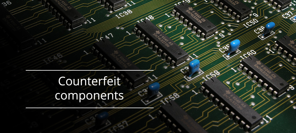Counterfeit components