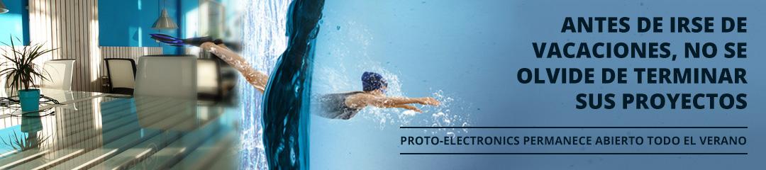 Proto-Electronics permanece abierto todo el verano