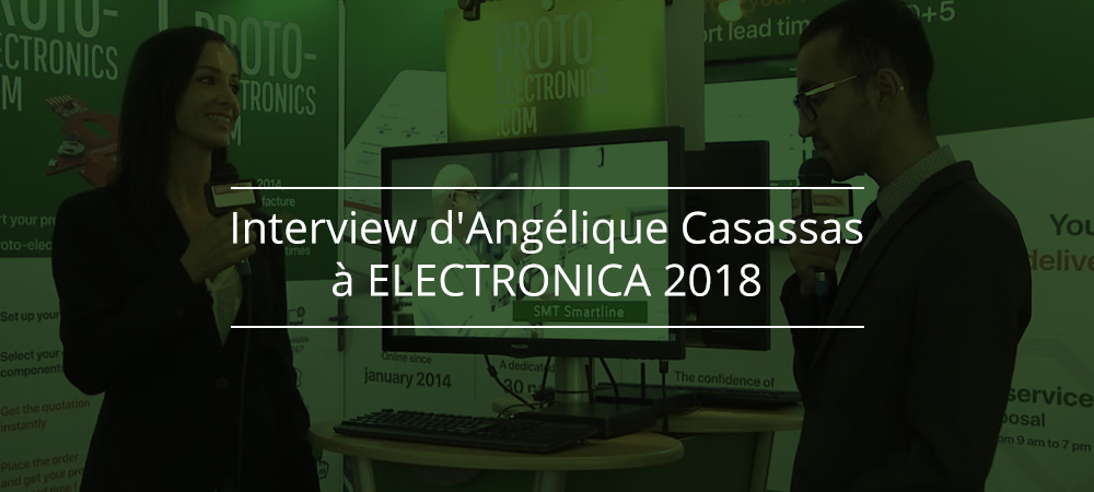 Interview d'Angélique CASASSAS à ELECTRONICA 2018