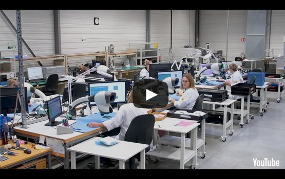 Discover our production halls