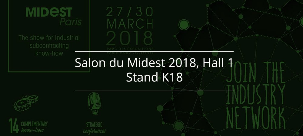 Proto-Electronics sera au salon Midest 2018 à Paris, stand K18, hall 1