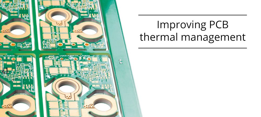 Hints for improving PCB thermal management